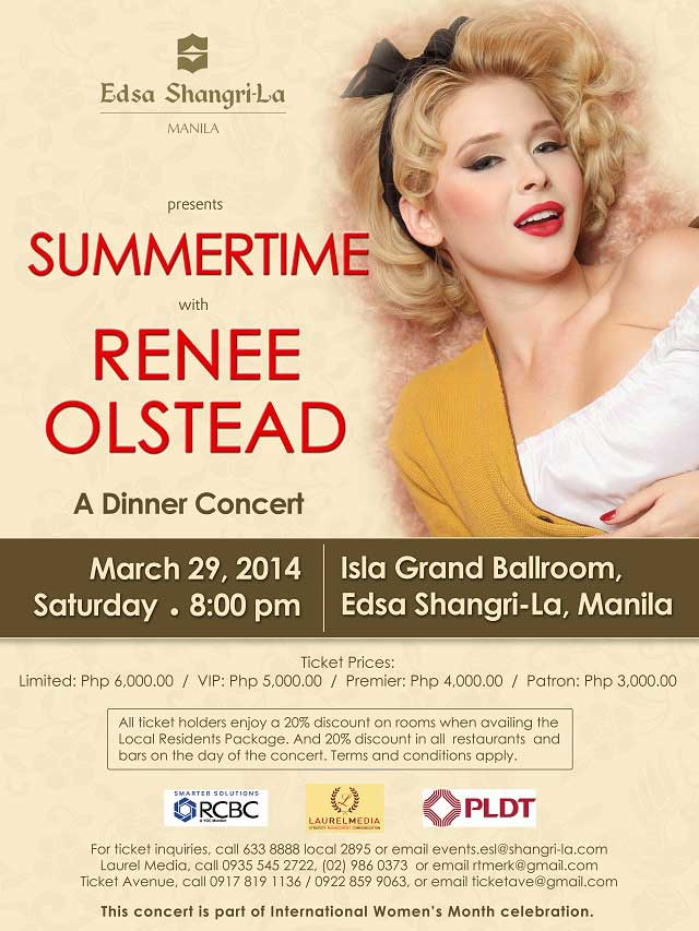 Renee Olstead Summertime