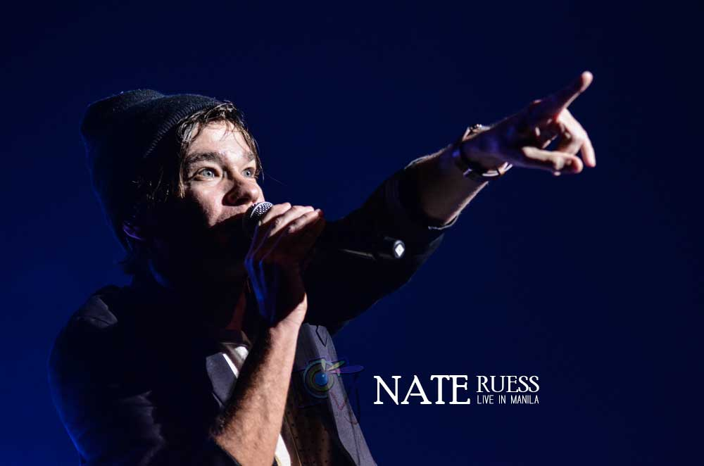 In Photos: Nate Ruess Live in Manila