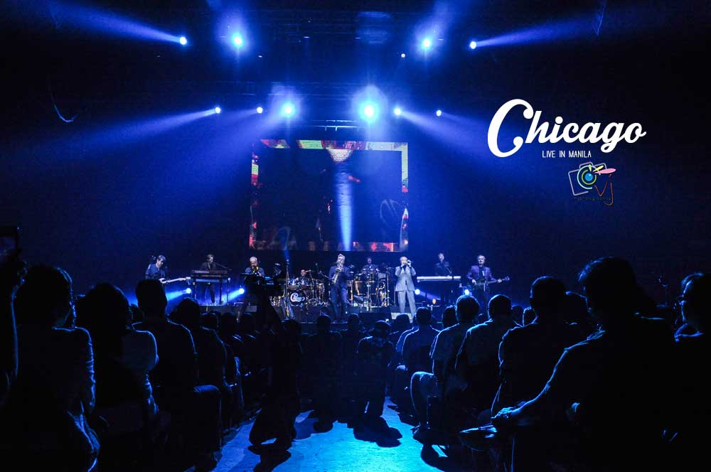 In Photos: Chicago Live in Manila