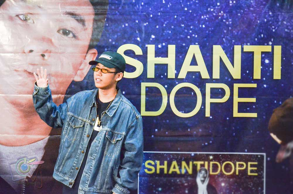In Photos: Shanti Dope Press Con