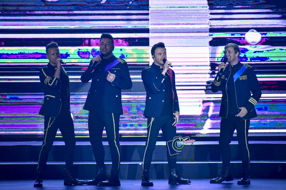 Westlife showcases retrospective journey in 'Twenty Tour' concert